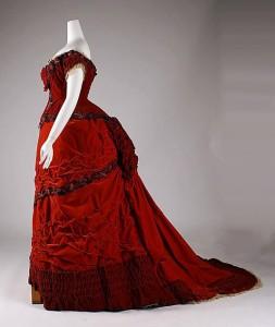1 red dress